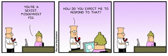 Dilbert sexual harassment cartoons