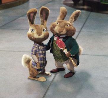 hop easter bunny and eb.JPG