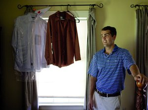 scott checking his dry cleaning.jpg